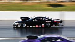 Pro Stock_3655 (Fast an' Bulbous) Tags: nikon d7100 gimp panning drag strip race track fast speed power acceleration motorsport car vehicle automobile racecar santapod