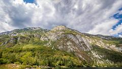 Slovénie J6-17 (Merlin H.) Tags: bohinj montagne paysage slovénie cielétoilé lacdebohinj landscape macro mountains nocturne papillon poselongue reflets
