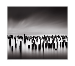At the sea (andreassofus) Tags: sea seascape ocean occeanview longexposure fineart fineartphotography water lee leebigstopper bigstopper landscape grandlandscape nature sky clouds america usa travel travelphotography summer summertime seaside outdoor nopeople monochrome blackwhite bw