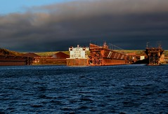 October Storm Light at Two Harbors (knutsonrick) Tags: