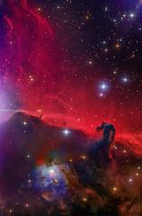 B33 & NGC2023 | Horsehead Nebula Region | LHaRGB (Steven Mohr) Tags: astrometrydotnet:id=nova3091208 astrometrydotnet:status=solved