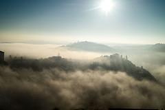 Días de niebla (JuanCarlossony) Tags: niebla amanecer sol bosque rayos arboles arbol sony 70300mm tamron slta58 a58