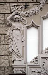 Prager Fassadendetails - 17 (fotomänni) Tags: prag prague praha jugendstil fassadenfiguren skulptur skulpturen sculpture kunst art manfredweis