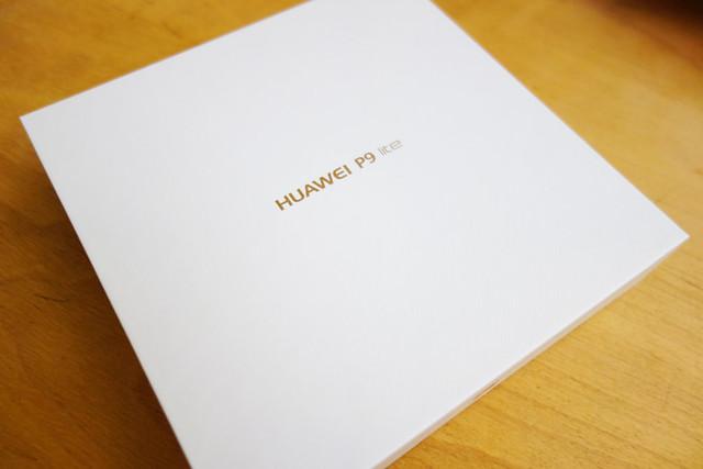 楽天モバイルHUAWEI P9liteのパッケージ