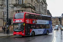 33254 YX68UPF First Glasgow (busmanscotland) Tags: 33254 yx68upf first glasgow yx68 upf ad adl alexander dennis e40d enviro400 enviro 400