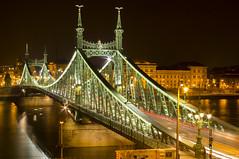 Szabadság híd (Csongrádi Ádám) Tags: szabadsag hid bridge night budapest nightshoot duna danube river hungary