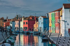 Bathe My Soul In Colors (Anna Kwa) Tags: burano venetianlagoon reflections colourful fishermanshouses italy annakwa nikon d750 2401200mmf40 my colors soul always seeing heart throughmylens life journey fate destiny travel world