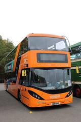 453 YN18 SXO (ANDY'S UK TRANSPORT PAGE) Tags: buses showbus2018 castledonington nottinghamcitytransport