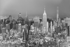 ... New York ... (wolli s) Tags: empire flickr ny nyc newyork newyorkcity us usa worldtradecenter empirestatebuilding tilt tiltshift toytown