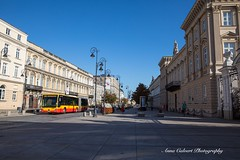 Warsaw, Poland (Anna Calvert Photography) Tags: poland polska warsaw street flowers europe people landscape nature summer outdoors holiday buildings architecture bus