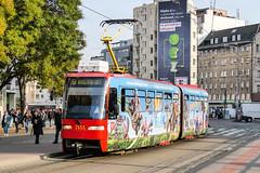 BTS_7133_201811 (Tram Photos) Tags: ckd tatra k2s bratislava dopravnýpodnikbratislava dpb strasenbahn tram tramway električková mhd električka vollwerbung ganzreklame