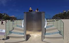 Pixel 3 stand (nisudapi) Tags: google pixel3 pixel phone mobile lookout promotion ad advert advertisement stand stepsaustralia sydney 2018 sculpture art beach sculpturebythesea sxs sxs2018 tamarama seaside