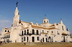 exterior Santuario de la Virgen del Rocio Almonte Huelva (Rafael Gomez - http://micamara.es) Tags: exterior santuario de la virgen del rocio almonte huelva