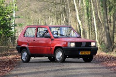 My Fiat Panda 1000 CL i.e. 1990 (YP-02-FB) (MilanWH) Tags: fiat panda 1000 cl ie 1990 yp02fb iniezione elettronica 141