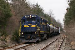 Paletown Road (Dan A. Davis) Tags: eastpennrailroad espn eastpenn b237 railroad train locomotive freighttrain quakertown eastrockhill pennsylvania pa