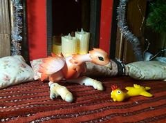 You kiddng me (xaskixarf) Tags: glowing bjddoll belarus bjd bjdbelarus bjdclub toy animal camelliadynasty rosemary bird jointed sign sky