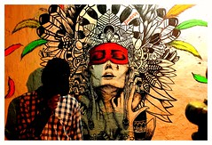 Graffiti @ fort cochin (Rajavelu1) Tags: graffiti wallpainting fortcochin kerala india dslr art creative handheld availablelight streetphotography streetscenes streetart artdigital aasia candidstreetphotography