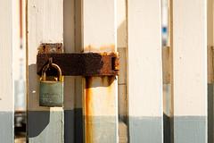 Locked away (.Stephen..Brennan.) Tags: fa77 fremantle industrial pentax pentaxk3 rust weathered perth westernaustralia australia au