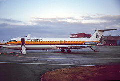 Monarch 1-11-500 (Martyn Cartledge / www.aspphotography.net) Tags: 111500 aerodrome aeroplane air aircraft airline airliner airplane airport aspphotography aviation bac cartledge civilairline civilairliner flight fly flying jet man manchester martyn monarchairlines plane runway transport wwwaspphotographynet uk asp photography flywinglets