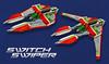 Switch Swiper - VV2018 (JaytheRobot) Tags: vic viper vicviper novvember nnovvember space spaceship scifi lego fighter starfighter moc