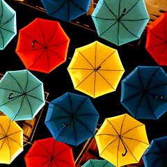 Les Parapluies d'Aurillac (pom'.) Tags: panasonicdmctz101 august 2018 cantal auvergne auvergnerhônealpes massifcentral 15 100 200 france europeanunion aurillac umbrellas 300