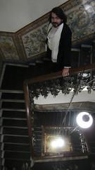 World War I. Historical reenactment. Recreación de la Primera Guerra Mundial (1914-1918). MADRID. NOVIEMBRE 2018. (Anacrónicos Recreación Histórica) Tags: 1stww centenary centenario 1918 civil caballero gentleman frac hombre man moustache bigote stairs escaleras historicalreenactment recreacionhistorica armisticio worldwar warcentenary wwi pictures history historia worldwarone primeraguerramundial worldwari ww1 greatwar granguerra globalwar europe vintage smart elegante