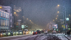 Winter in the city. Moscow, Russia (varfolomeev) Tags: 2018 россия город улица russia city street fujifilmxt10