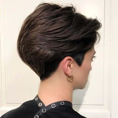 Cabello corto para lucir en una fiesta Capas largas delanteras (La Peluqueria Cordoba) Tags: cabello corto cordoba salon belleza fiesta
