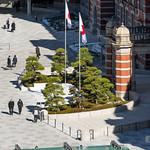 Marunouchi Exit Plaza of Tokyo Station (東京駅)