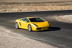 Lamborghini Gallardo (Hunter J. G. Frim Photography) Tags: supercar colorado track invictus lamborghini gallardo v10 italian coupe gray yellow awd carbon lamborghinigallardo