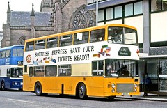 Northern Scottish: NLO8 (SSA8X) in Nethergate, Dundee (Mega Anorak) Tags: bus leyland olympian onlxb1r alexander northernscottish dundee