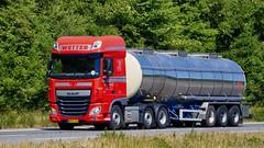 BM63103 (18.06.27, Motorvej 501, Viby J)DSC_2779_Balancer (Lav Ulv) Tags: 253096 daf dafxf xfeuro6 xf106 xf460 6x2 euro6 e6 red perwetter pervetter 2017 tanker tankvogn tankwagen tanktruck tankbil truck truckphoto truckspotter traffic trafik verkehr cabover street road strasse vej commercialvehicles erhvervskøretøjer danmark denmark dänemark danishhauliers danskefirmaer danskevognmænd vehicle køretøj aarhus lkw lastbil lastvogn camion vehicule coe danemark danimarca lorry autocarra danoise vrachtwagen motorway autobahn motorvej vibyj highway hiway autostrada trækker hauler zugmaschine tractorunit tractor artic articulated semi sattelzug auflieger trailer sattelschlepper vogntog oplegger sættevogn silo