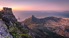 """Sunset from Table Mountain • <a style=""""font-size:0.8em;"""" href=""""http://www.flickr.com/photos/94652897@N07/46437279372/"""" target=""""_blank"""">View on Flickr</a>"""