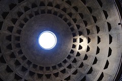 Eye of the Pantheon (joanne clifford) Tags: happywindowwednesday thepantheon italy rome architecture dome pantheondome oculus pantheon hww windowwednesday