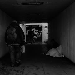 Street (M. J. Black) Tags: people portrait portraits peoplephotography candid candidphotography street streetphotography streetphoto streetphotograph streets streetscene streetportrait underpass tunnel bw bwphotography mono monochrome monochromephotography blackandwhite blackandwhitephotography blackpool blackpoolstreetphotography lancs lancashire northwest north 23mm fuji fujifilmx100f fujix100f fujifilm x100f