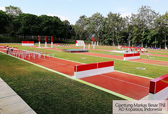SSGsportsurface sport court in Indonesia (ssgsportsurface) Tags: ssgsportsurface sportflooring runningtrack basketballcourt sportcourt stadium construction epdm syntheticflooring siliconpu prefabricatedrunningtrack