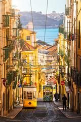 The Bica Funicular | Lisbon, Portugal (NicoTrinkhaus) Tags: lisbon portugal europe streets city funicular tram landmark famous trip travel lisboa unesco bicafunicular