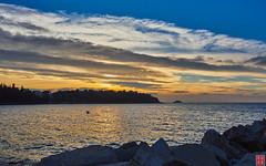 Sunset in Rovinj, Croatia. (Eadbhaird) Tags: croatia hrv istria rovinj sunset sea
