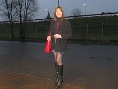 Milano - Via Portaluppi (Alessia Cross) Tags: boots crossdresser tgirl transgender transvestite travestito