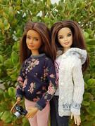 Abril & Bella (amartpas) Tags: barbie ooak salemcitydolls abril skipper princess miercoleshappy ateliernishasha euphoriadolls bella eclipse mackie