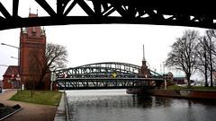 Hubbrücke Lübeck (dl1ydn) Tags: bauwerke lübeck hubbrücke architektur dl1ydn aschacht travegon 35mmf35 denkmal bridge