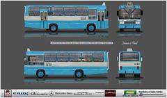 13 617 Mar Paulista reflexo (busManíaCo) Tags: desenhodeônibus desenho drawing caioinduscar busmaníaco gabriela lpo1113