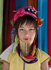 Girl, Karen Long Neck Tribe, Chiang Mai Province, Thailand (klauslang99) Tags: asia beautifulpeople burmeseethnicity chiangmai chiangrai closeup colorimage colourimage costume day decoration elegance elegant ethnic female goldentriangle graceful headdress headgear headwear hilltribe hilltribes indigenous indigenousculture karenlongnecktribe lookingcamera minorities multicolored northernthailand outdoor outside pearl portrait propriety refined siam thaiculture thaiethnicity thaifood thailand thais traditionalclothing traditionalculture traditionallythai tribepeople younggirl klauslang ethnography anthropology etnology