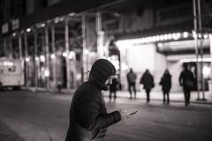 Mobile Man (Eddie K. Photo) Tags: new york city manhattan street photograpy