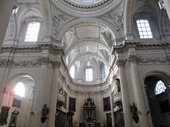 Vaulted apse, Cathédrale Saint-Aubain, Namur, Belgium (Paul McClure DC) Tags: namur namen belgium belgique wallonia wallonie ardennes feb2018 cathedral historic architecture