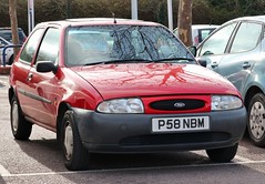 P58 NBM (Nivek.Old.Gold) Tags: 1996 ford fiesta lx 16v auto 3door 1242cc