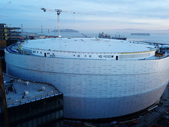 Chase Center - future home, Golden State Warriors (samayoukodomo) Tags: droneview dronephotography dronepointofview aerialview aerial aerialphotography quadcopter takingthedroneouttogethigh drone djimavicpro mavicpro birdseyeview