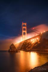 Fort Baker (sberkley123) Tags: sausalito longexposure d850 nikon marin goldengatebridge 2470mm california sanfrancisco fortbaker fog usa marinheadlands night tamron