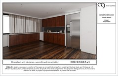 Kitchen cabinets Layout idea 3