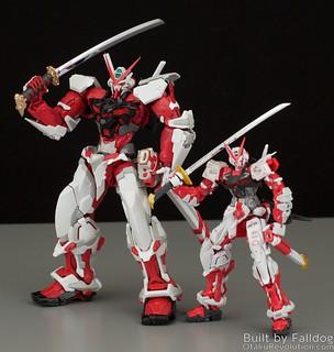 HiRM Astray Red Frame Gundam 18 by Judson Weinsheimer